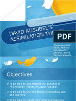 Assimilation Theory PPT