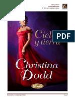 Christina Dodd - Serie My Stand Alone 04 - Cielo y Tierra