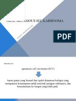 Oral Skuamous Sel Karsinoma