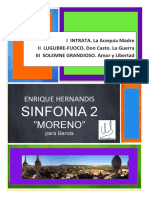 Sinfonia 2 MORENO for Concert Band,