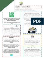 Curriculum Newsletter (Rec Summer 1)