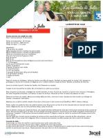 22042017 Lcdj Recette Terrine de Foies de Volaille de Julie