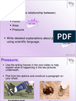 Basic concepts of pressure