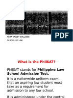 Primer on the Philsat