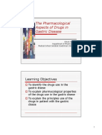 k11 - Pharmacology of the Drugs Use in Gatric Disease2