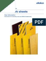 Doka Formworks User Information