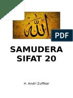SAMUDERA SIFAT 20