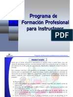 Instructores