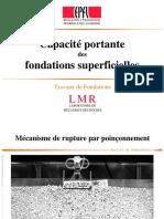 Capacité Portante Des Fondations Superficielles (Epfa)