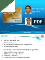 Webinar 60-GHz RDK Agilent-TSMC 03May2012 Final