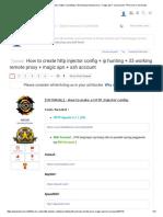 Http Injector tutorial