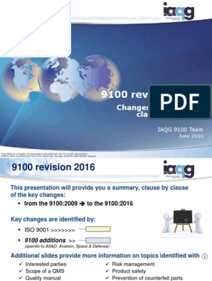 AS9100D Clause by Clause | Risk Management | Business Process