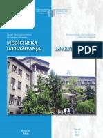 Vol 49 Sv 1 2015 Medicinska Istrazivanja