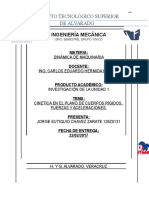 Cinetica Enel Plano de Cuerpos Rígidos