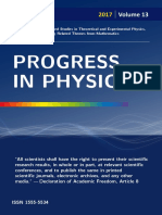 PROGRESS IN PHYSICS. Vol. 2/2017