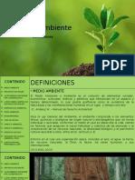 Medio Ambiente Definiciones
