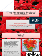 the poinsettia project power point presentation