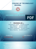 Gsm Based Home Security System PPT