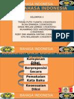Tugas Ejaan Bahasa Indonesia