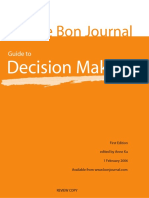 Le Bon Journal Guide to Decision Making