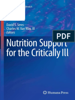 (Nutrition and Health) David S. Seres, Charles W. Van Way, III (eds.)-Nutrition Support for the Critically Ill-Humana Press (2016).pdf