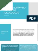 Etica en Quirofano y Aspectos Psicologicos