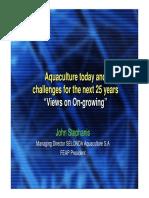 Challenges for Aquaculture