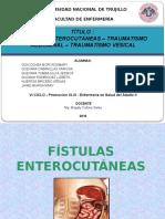 Fistulas y Traumas