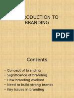 Branding 1 Introduction