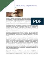 Carlos Marx Artigo de Sugel