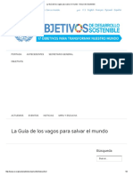 __La Guía de Los Vagos Para Salvar El Mundo - Desarrollo Sostenible