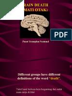 Mati Otak (Oleh Pusat Transplan Nasional)