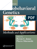 Neurobehavioral Genetics - Methods and Applications 2nd Ed - B. Jones, P. Mormede (CRC, 2007) WW