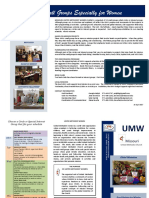 UMW Brochure 2017