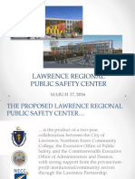 Lawrence Regional Public Safety Training Center Presentation