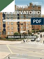Boletin Mercado Vivienda I Trimestre 2015