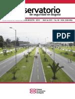 Balance de La Seguridad en Bogotá 2014 (2)