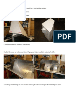 Aluminium Fuel Tank Fabrication