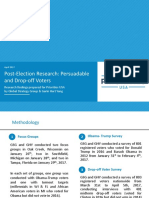 Post-election Research Deck