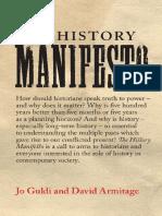 History Manifesto 2004