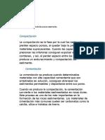 Informe. Caracteriscticas de La Roca Reservorio.