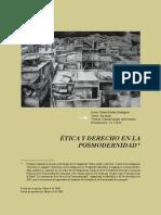 Ética y Derecho en La Posmodernidad
