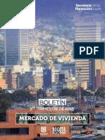 Boletin Mercado de Vivienda