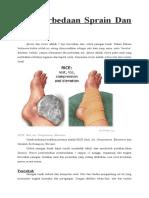 Perbedaan Sprain Dan Strain