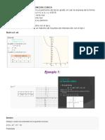Caracterisiticas de La Funcion Cubica