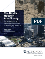 The Kinder Houston Area Survey