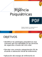 Urgencia Psiquiátricas