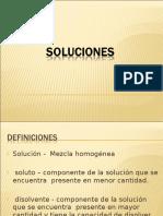 Clase 2- Soluciones- Factores Que Afectan La Solubilidad