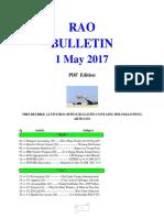 Bulletin 170501 (PDF Edition)