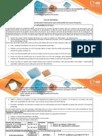 Guía de Actividades y Rúbrica de Evaluación - Paso 6 - Gestionando Información Para El Desarrollo de Nuevos Proyectos (1)